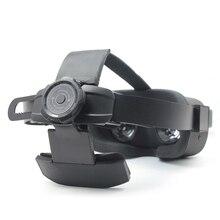 アキュラスためクエスト vr ヘッドセット調節可能なヘッドバンドヘッドストラップ頭部保護バンドベルトアキュラスためクエスト vr ヘルメット