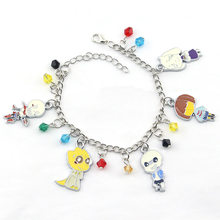 Cartoon game Undertale Frisk Toriel Sans Papyrus Alphys metal bracelets women jewelry fashion charm bracelet bracciali donna(China)