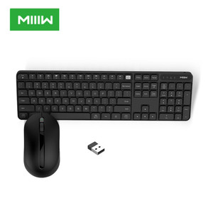 Original MIIIW Wireless Office Keyboard & Mouse Set 104 Keys 2.4GHz Windows PC MAC Compatible Portable USB Keyboard(China)