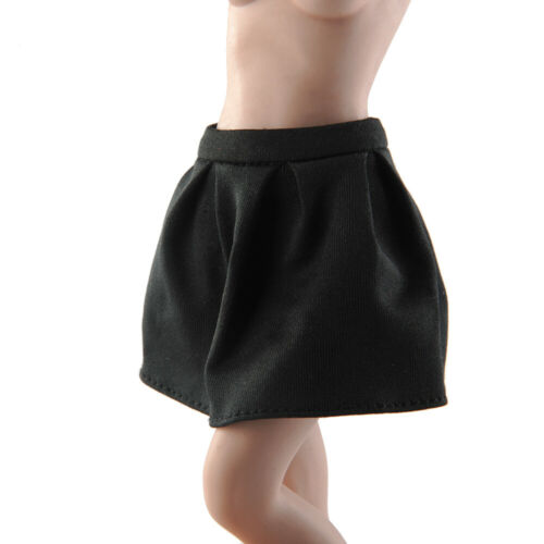 1/6 Black Skirt short mini Dress Clothes Model Fit 12inch Female TBL Figure Toys in stock