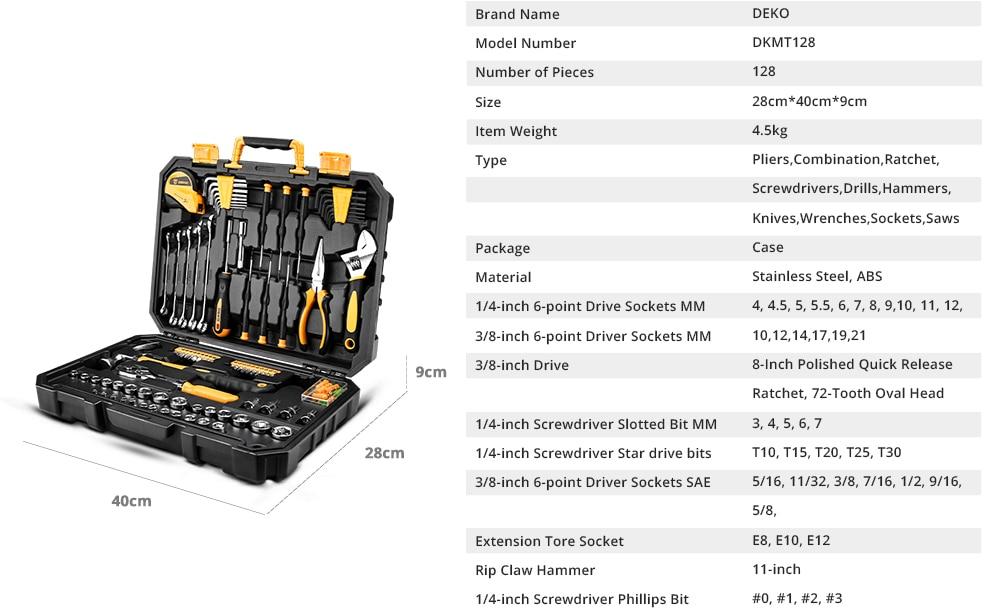 Deko DKMT Series Specification 3