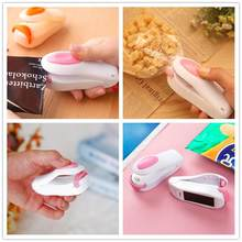 Portable Heat Sealer Handy Mini Sealing Household Storage Bags Heat Sealer Capper Foodsaver For Plastic Bags Food Package Clips(China)