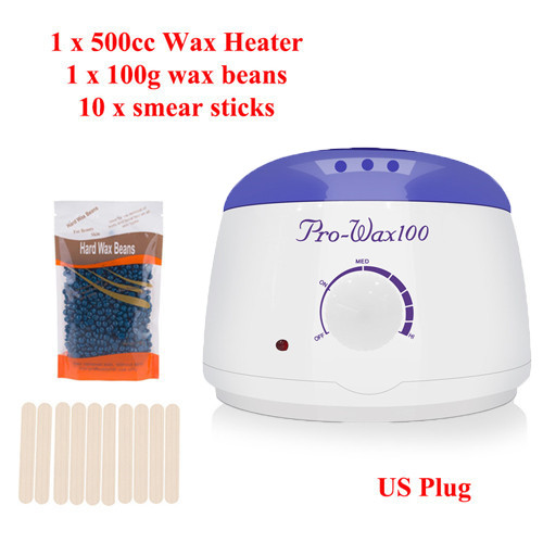 200cc 500cc Hand Wax Machine Hot Paraffin Wax Warmer Heater Body Depilatory Salon SPA Hair Removal Tool  Wax VIP DROPSHIPPING