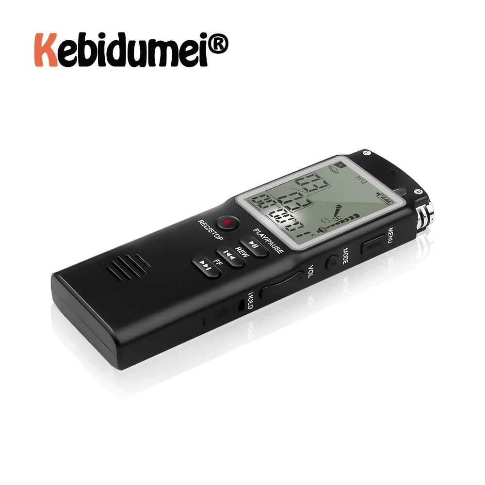 Profesyonel 8GB ses kaydedici kalem USB MP3 Çalar Taşınabilir Kulaklık Dijital Ses Röportaj Kaydedici VAR/VOR