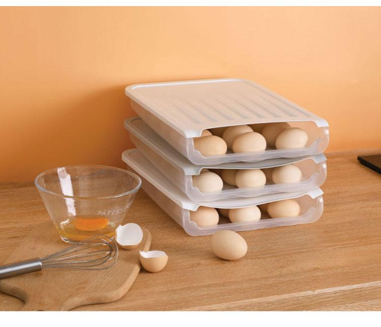 Auto Scrolling Egg Storage Holder