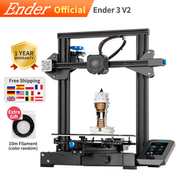 Ender-3 V2 3D impresora DIY Kit nueva actualización auto-desarrollado silent mainboard Creality 3D