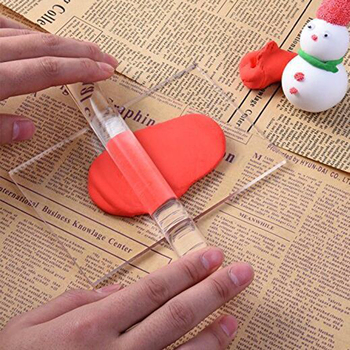 20cm Solid Clay Rolling Pin Acrylic Clay Roller DIY Modelling Clay Tools Sculpey Polymer Clay Art Craft Accessories stamping brayer art clay tools for craft 3 5x8x11cm non stick roller pin clay roller pottery rolling pin modelling tool