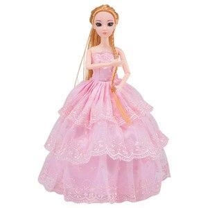 Image 2 - Bebek 83 aksesuarları DIY giydirme oyuncaklar kızlar için Fashionista nihai moda prenses bebek seti