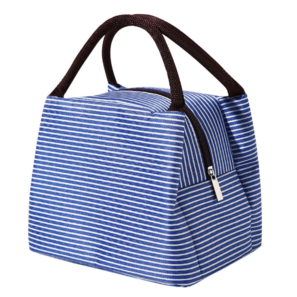 Lunch Bags For Women Unisex Outdoor Fashion Simple Style Large Capacity Waterproof Lunch Bag Loncheras Para Mujer ##0