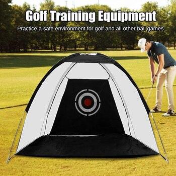 Hot Indoor Outdoor Golf Practice Net Golf Hitting Cage Garden Grassland Practice Tent Golf Training Equipment MVI-ing