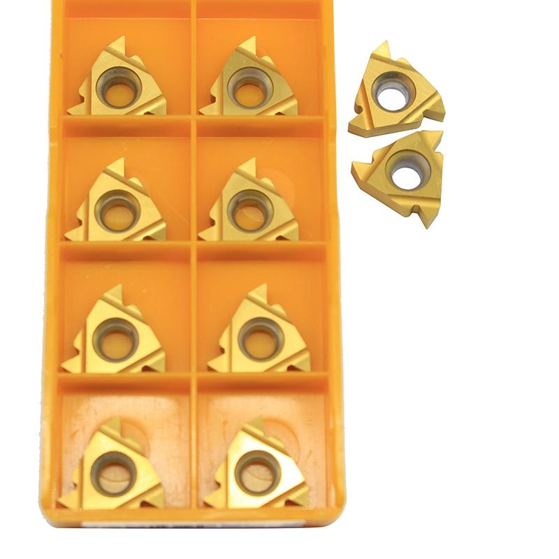 10 шт. MMT 16ER AG60 UE 6020 внешние токарные инструменты карбидные вставки токарный станок резак инструмент токарный инструмент