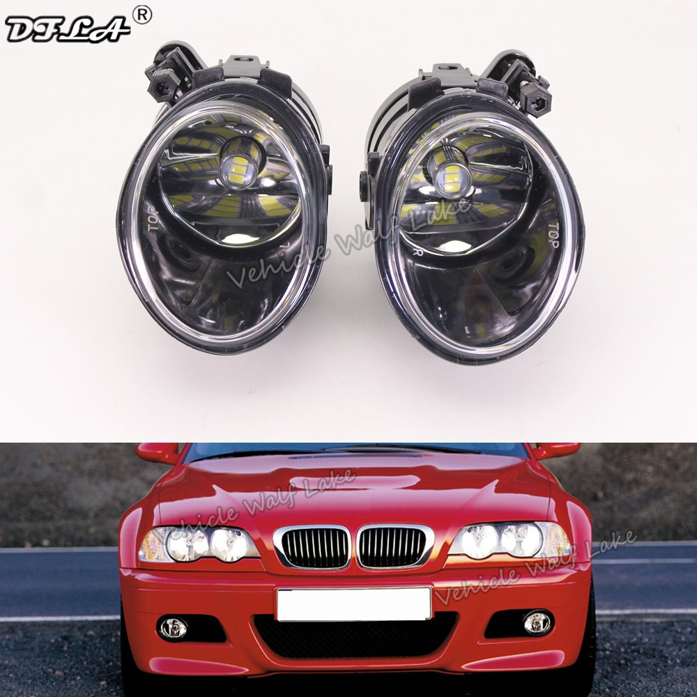 Fits BMW 3 Series E46 M3 5 Door 98-05 Front Right Driver Side OS Fog Light Lam