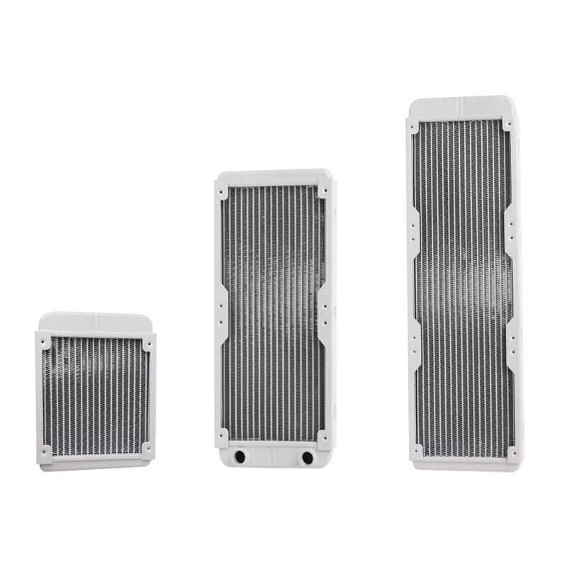 1 шт., алюминиевый радиатор для процессора, 120/240/360 мм