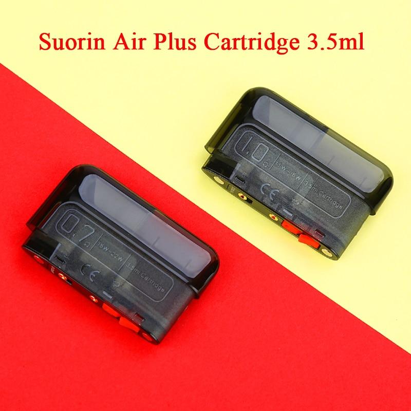 Original Suorin Air Plus Pod Cartridge 3.5ml Capacity Pod System Vape Vaporizer For Suorin Air Plus Pod Kit Vs Suorin AIR/ Drag