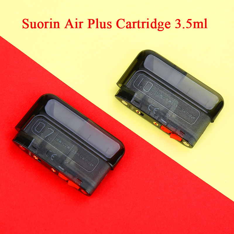Original <font><b>Suorin</b></font> <font><b>Air</b></font> <font><b>Plus</b></font> <font><b>Pod</b></font> <font><b>Cartridge</b></font> 3.5ml Capacity <font><b>Pod</b></font> System Vape Vaporizer for <font><b>Suorin</b></font> <font><b>Air</b></font> <font><b>Plus</b></font> <font><b>Pod</b></font> Kit vs <font><b>Suorin</b></font> <font><b>AIR</b></font>/ Drag image