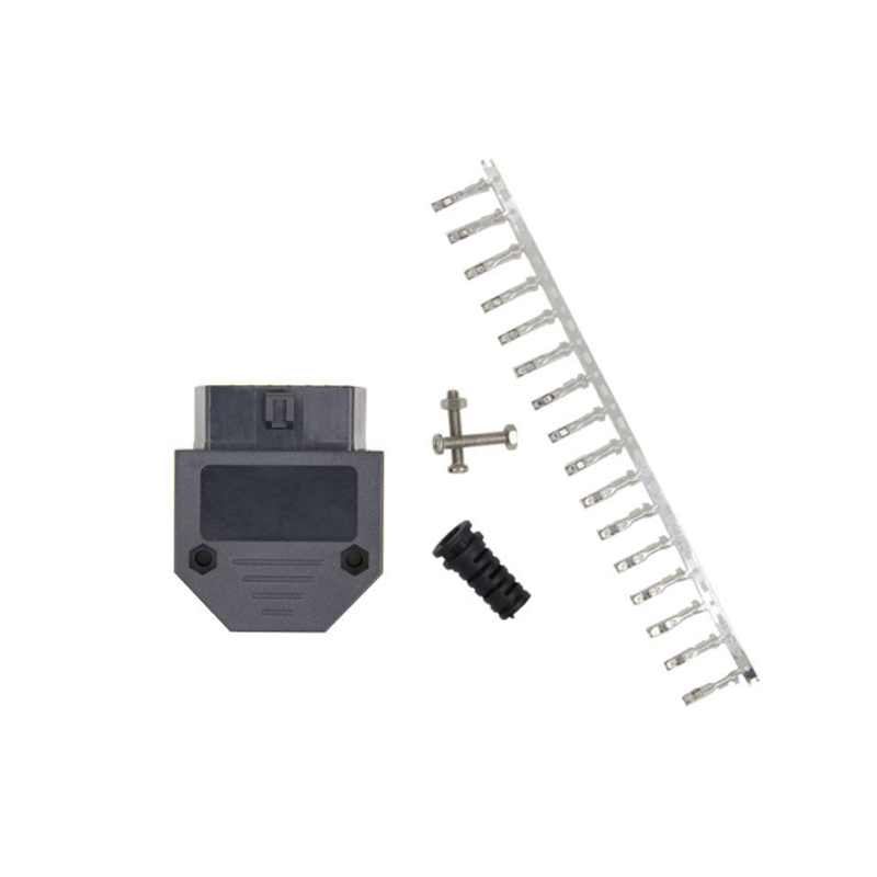 10pcs/Lot Normal OBD <font><b>OBD2</b></font> OBDII <font><b>16</b></font> <font><b>Pin</b></font> <font><b>Female</b></font> connector 16P OBD image