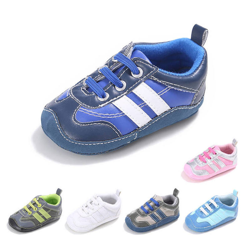 Baby Boy Shoes Girl Sneaker Pvc Soft Rubber Soft Anti-slip Outdoor Sport Breather First Walkers Toddler Crib Infant Shoes