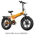 Bici elettrica 48V12. 5A Batteria Al Litio 20*4.0 pollici In Alluminio Pieghevole Bicicletta Elettrica 500W Potente Mountain bike Neve/bike beach