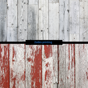 Image 5 - フォトスタジオ 55X86cm 2 辺印刷グレー木製黒青色の背景カメラ写真