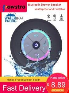 Shower Speaker Cool Waterproof Portable Wireless Bluetooth Hands-Free-Car