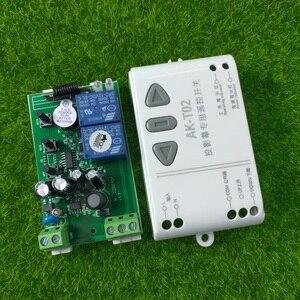 Image 5 - Mới T02 AC110V 220V 240V Thông Minh Kỹ Thuật Số RF Không Dây Điều Khiển Từ Xa Hệ Thống Màn Hình Chiếu Máy Thu