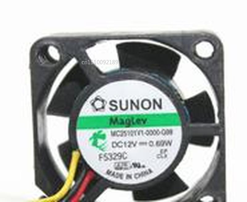 For MC25101V1-0000-G99 25 * 10 12V0.69W Three-wire Speed Fan Free Shipping