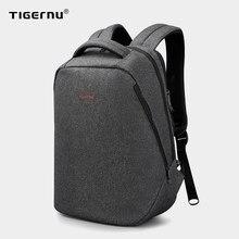 Tigernu causal repelente de água anti roubo homens 15.6 polegada mochilas do portátil 24l mochila para meninos viagem negócios masculino