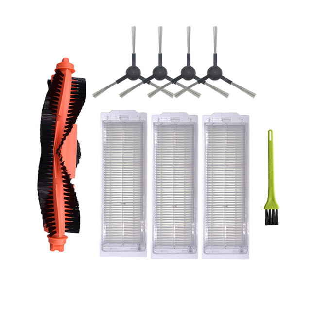HEPA filter Roller brushSide Brush Replacement Kit for Xiaomi Mijia STYJ02YM Vaccum cleaner Spare Parts Cleaning Brush
