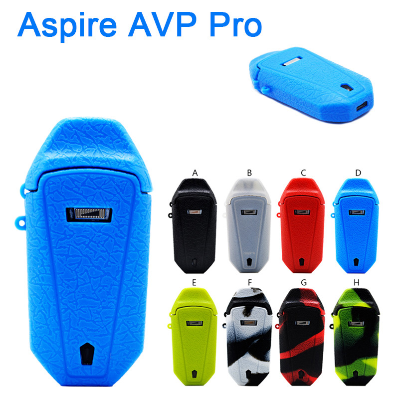 For Aspire Avp Pro Protective Silicone Case Cover Skin Decal Wrap Vape Pod Kit