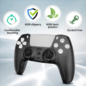 Image 4 - ABS Replacement Controller Shell for PlayStation 5 PS5 Controller Gamepad DIY Front Cover Back Cover for DualSense