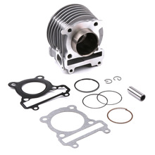 цена на For Yamaha BWS X 125 Cygnus 125 Original 52.4mm Cylinder Kit With Piston Cylinder Block Pin CNC Motorcycle Scooter Accessories