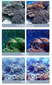 Image 5 - 3 حزمة مرشحات عدة الأحمر أرجواني غص عدسة اللون الأحمر تصفية ل GoPro بطل 8 الأسود سوبر دعوى الأصلي الإسكان اكسسوارات