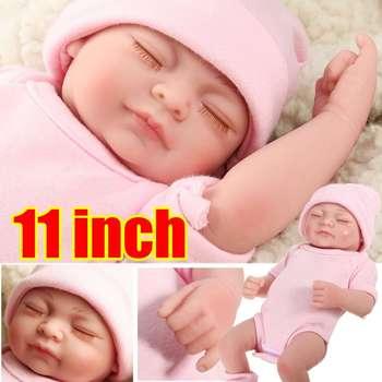 Silicone Dolls Handmade Baby Girl Doll