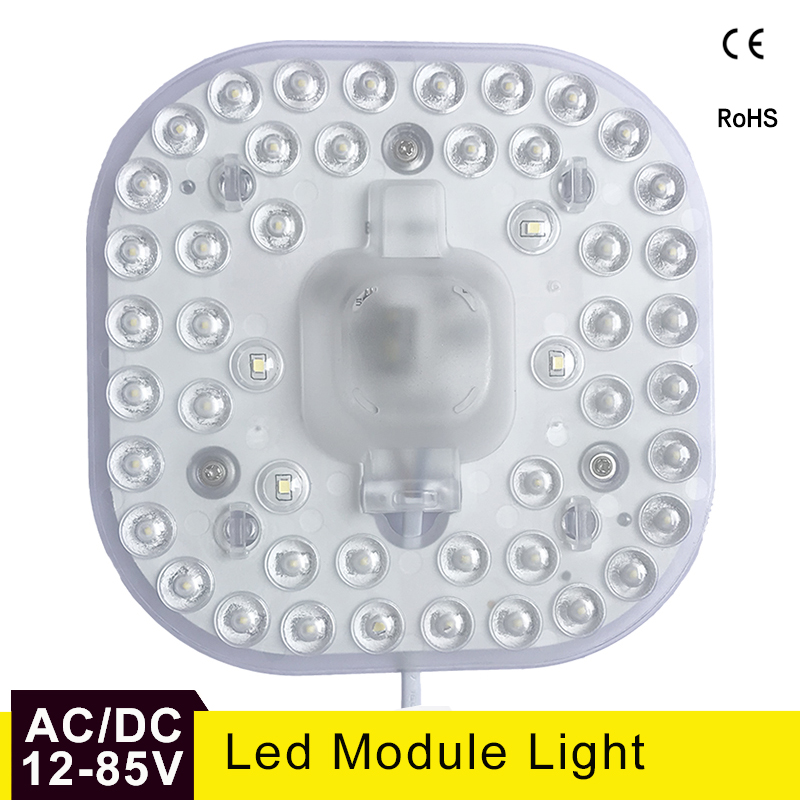 <font><b>Led</b></font> <font><b>Module</b></font> Lamp AC/DC 12V <font><b>24V</b></font> 36V 50V 24W Energy Saving Replace Ceiling Lamp Lighting Source Convenient Installation image