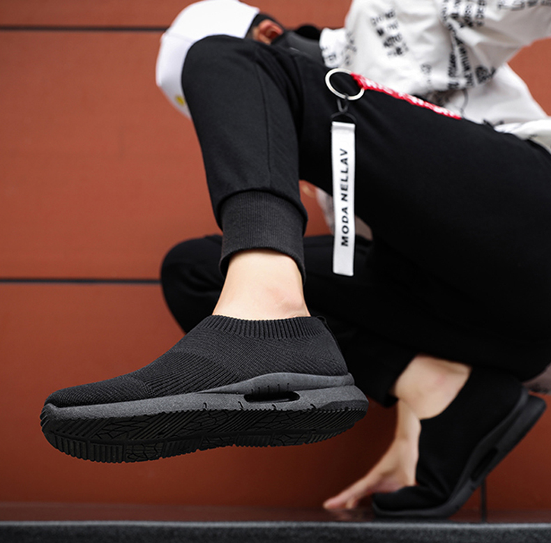 Light Running Shoes 46 Men Shoes Slip on Sock Sneakers Men's Casual Shoes ,Running, Jogging, Walking, Driving