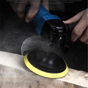 Image 3 - Discos de lixamento almofada abrasivo polonês roda de madeira conjuntos de papel lixamento reparação do farol carro polimento restauração lixa kits