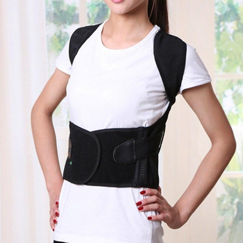 Купить с кэшбэком BYEPAIN High Quality Health Care Universal Correct Posture Corrector Belt Vest Back Brace Support