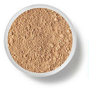 Pure Minerals Foundation,bare, SPF 15 Golden Medium Original Full Coverage 8g make up loose powder