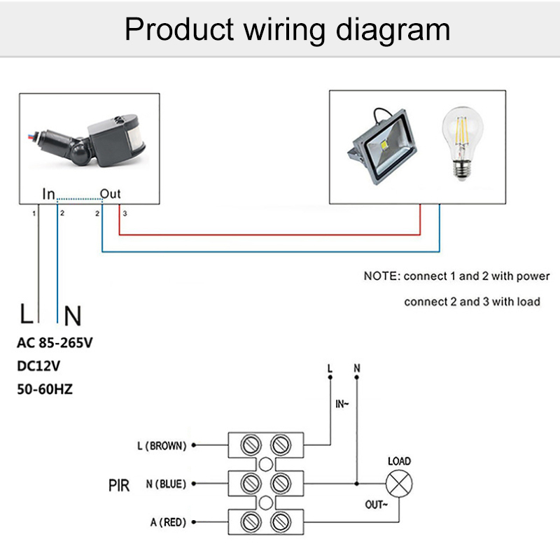 Led Motion Sensor Light Wiring Diagram from ae01.alicdn.com