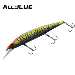 ALLBLUE SHANKS 130MR SP Fishing Lure Suspend Jerkbait 23g Tungsten Moving Systerm Long Cast Wobbler 2.5m Minnow Bass Pike Tackle