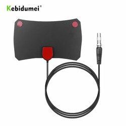 kebidumei Indoor Digital HDTV Antenna TV Aerial 200 Miles 4K Amplifier Booster DVB-T2 Signal Receiver Satellite Dish