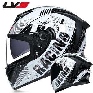 Image 2 - Motorcycle full Face Helmets Moto Racing helmet Adult safety helmet DOT certification