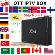 World IPTV Box X96H TV BOX android 9.0+9