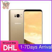 Samsung – S8 téléphone portable Galaxy G950F, 4G LTE, G950, écran de 5.8 pouces, 4 go de ram, 64 go de rom, appareil photo de 12 mpx, Android 7.0, Snapdragon 835, reconditionné, Original