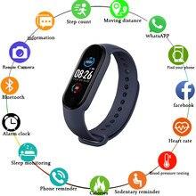 M5 браслет сердечного ритма крови Давление смарт-Браслет фитнес-трекер Smartband Шагомер Bluetooth браслет для fitbits Смарт-часы