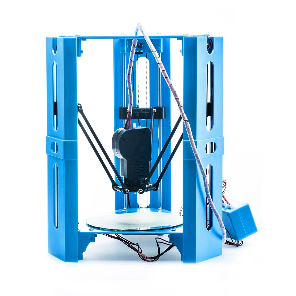 Mini 3D Printer 1.75mm 0.4mm Nozzle Filament Metal Desk Impresora 3D Printer DIY Kit DV Versions Drop Shipping 3d printe