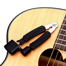 цена на 3 In 1 Multifunction Guitar String Winder String Pin Puller String Cutter Guitar Tool Guitar Accessories