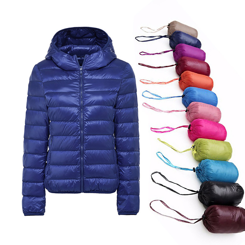 Autumn Coats   Jacket   Women Zipper Hooded   Basic     Jacket   Overcoat Ladies Street Coat Casual Winter Female Outwear Pink Plus Size 6XL
