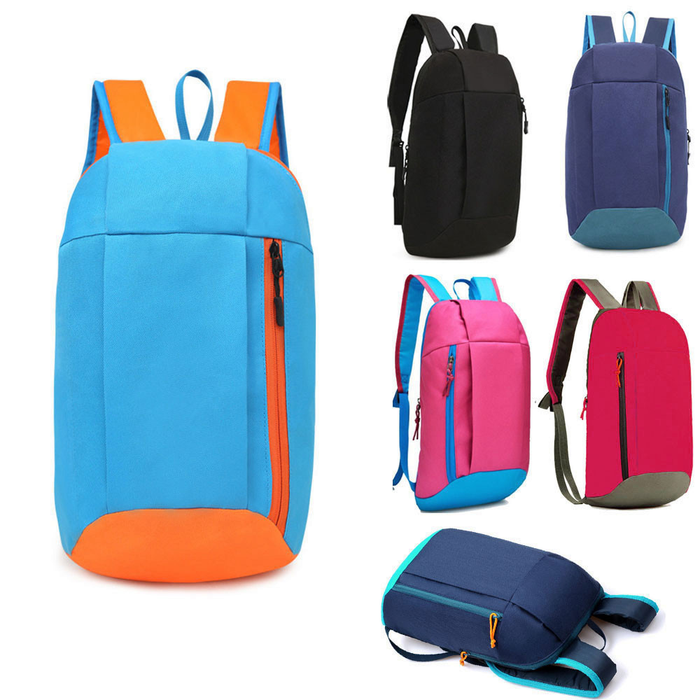 Women Sports Backpack Hiking Rucksack Men Women Unisex Schoolbags Satchel Bag Oxford Cloth Handbag For Lady Girl
