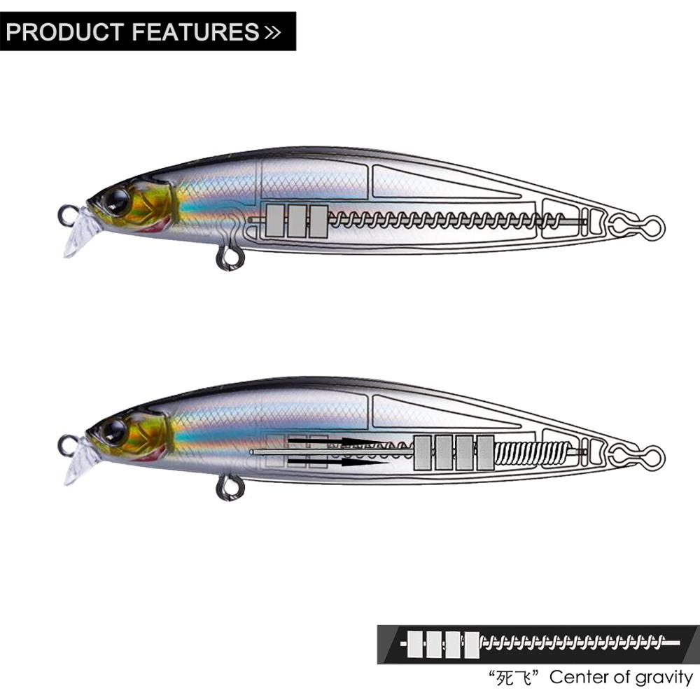 EWE 100mm/13g Superficial Layer Minnow Lure Artificial Bait Top Water Surface Lure Fishing Floating Wobblers Bait For Trout Fish(China)